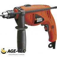 Furadeira de Impacto 1/2 HD500SB VVR 550W 110V  - BLACK AND DECKER
