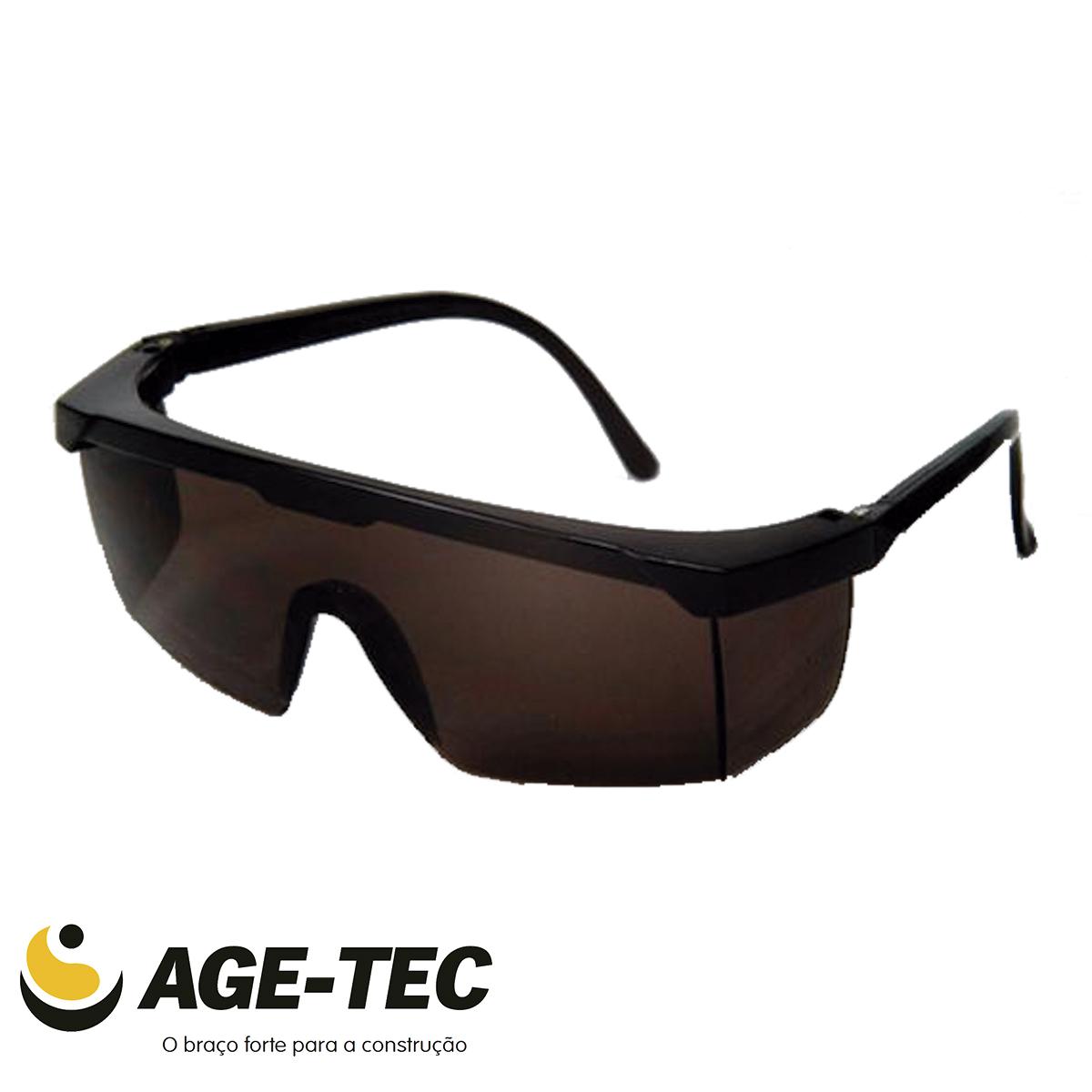 c2c4f49c3b18b Óculos de Segurança Cinza Jaguar - KALIPSO